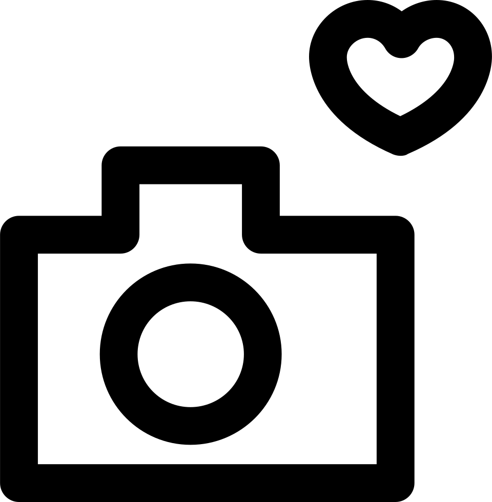 Download Camera Love Svg Png Icon Free Download (#372533 ...