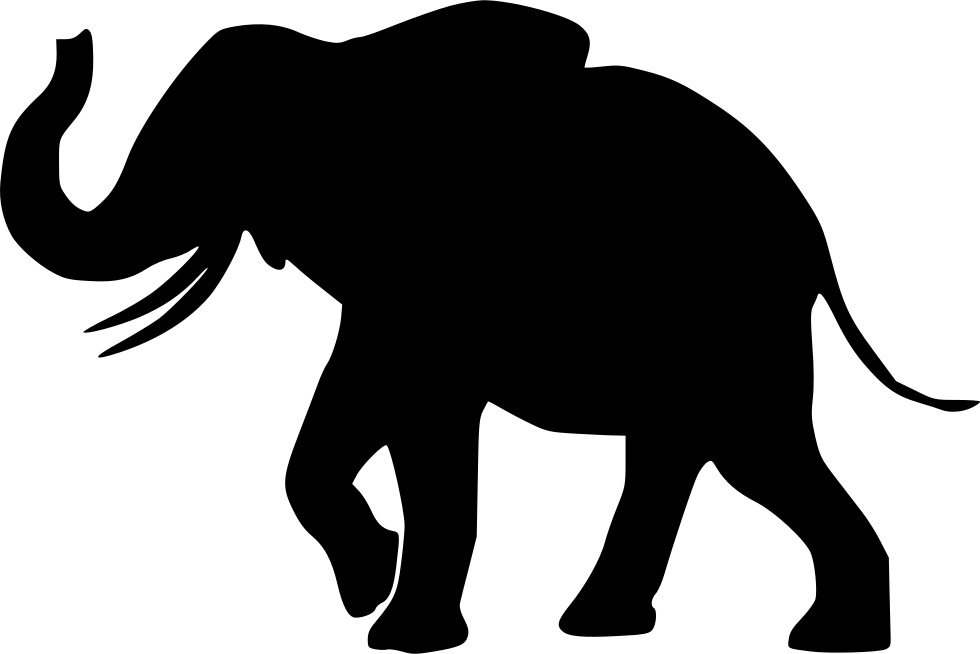 Elephant Svg Png Icon Free Download 438492