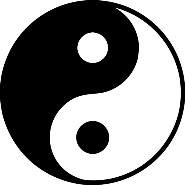Yin Yang Svg Png Icon Free Download 458691