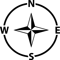 Compass Navigation Arrow Direction Gps West East North ... on ( ̄︶ ̄)↗  id=89175