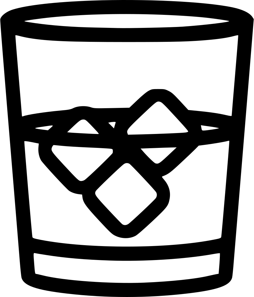 Whiskey Glass Svg Png Icon Free Download 483015