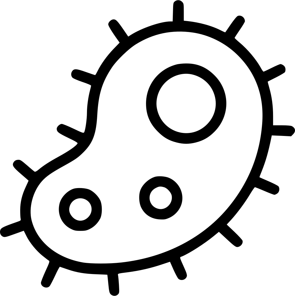 Bacteria Microbe Parasite Virus Infection Svg Png Icon