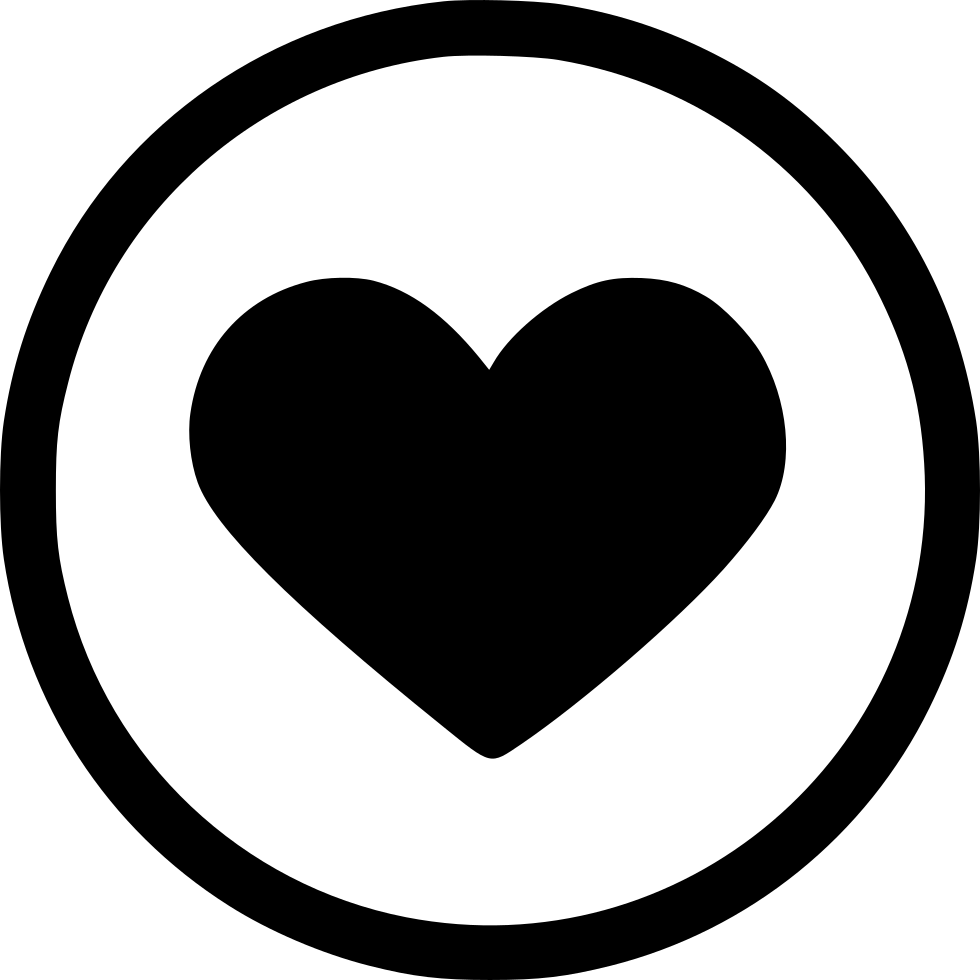 Download Like Love Romantic Heart Round Svg Png Icon Free Download ...