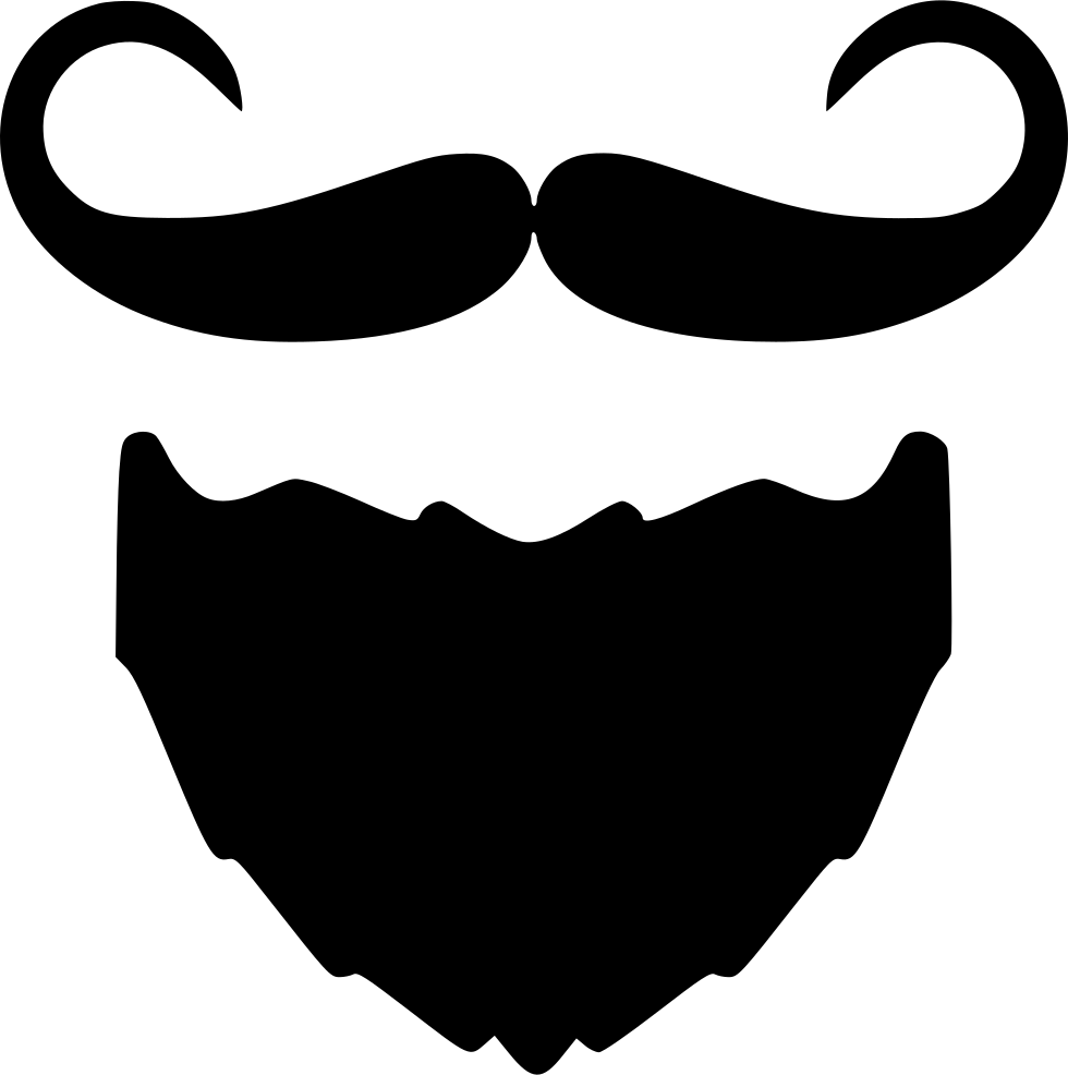 Beard And Moustache I Svg Png Icon Free Download 557022