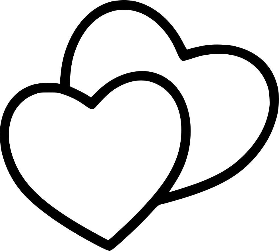 Download Heart Two Couple Love Valentine Svg Png Icon Free Download ...
