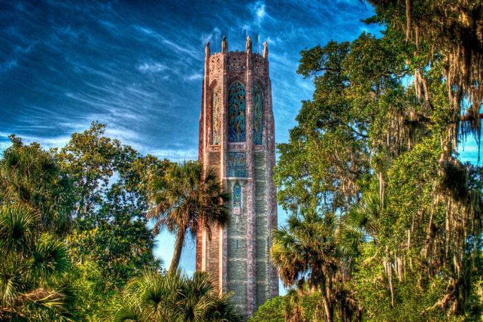 1. Bok Tower Gardens in Lake Wales, FL