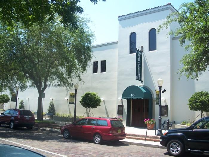 Charles Hosmer Morse Museum of Natural Art in Winter Park, FL