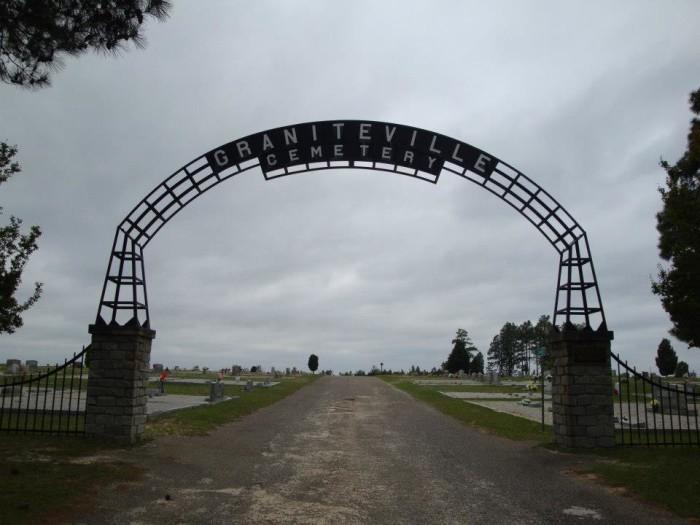 Carolina Haunted Cemetery South