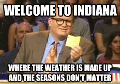 Image result for purdue weather meme