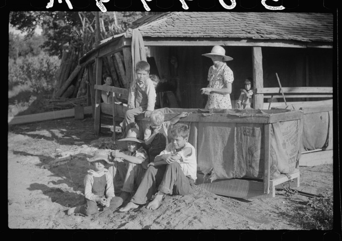 Family Life During Great Depression