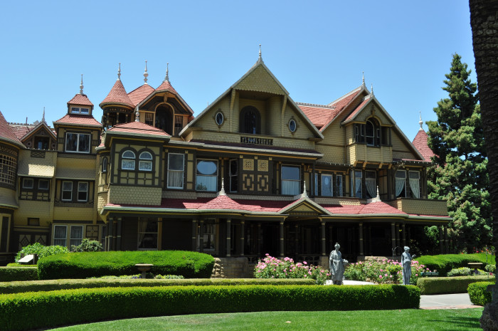 5. California: Winchester Mystery House, San Jose