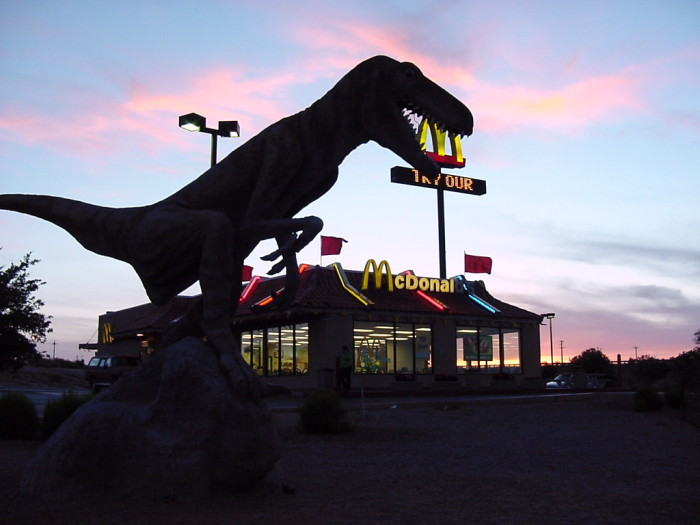8. Even a few of our McDonald's restaurants stand out from the crowd.