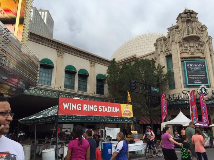 7. Biggest Little City Wing Fest - Reno, NV