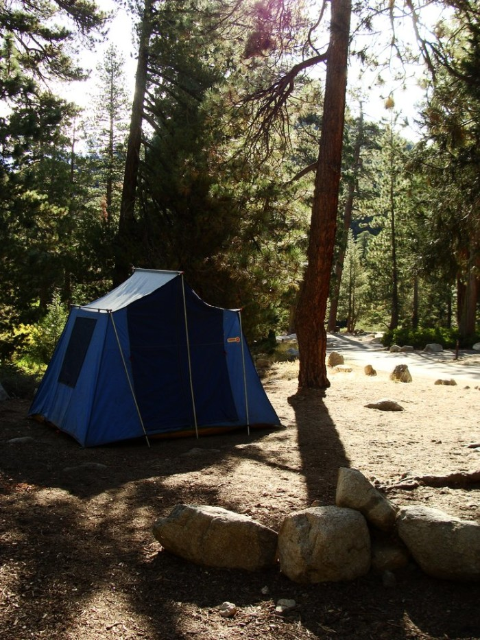3. Buckhorn Campground in the Angeles National Forest