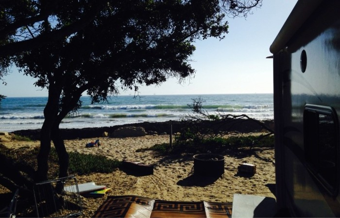 9. Carpinteria State Beach Campground in Santa Barbara County