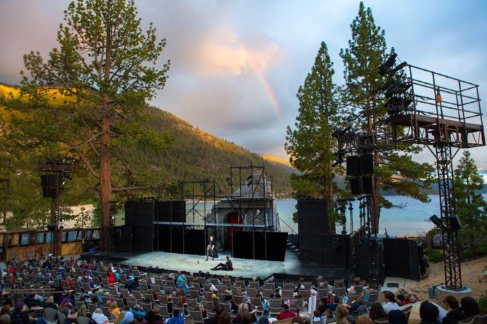 1. Patronize the arts at the Lake Tahoe Shakespeare Festival.