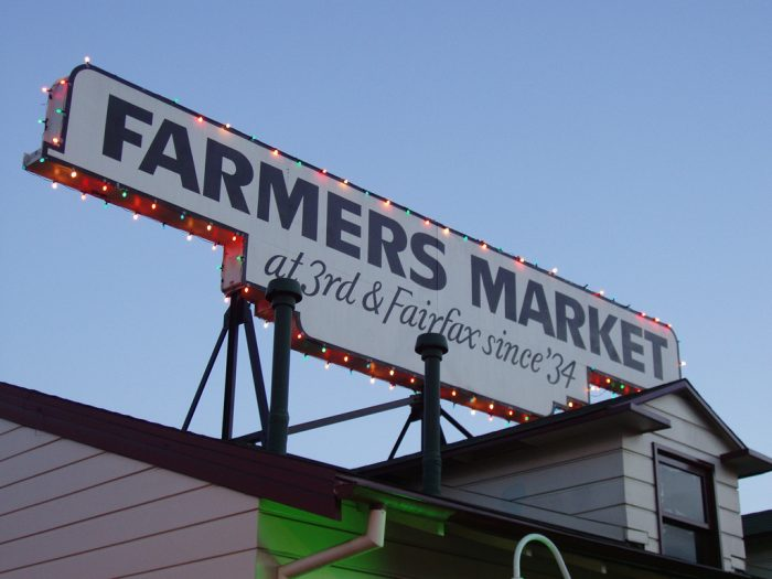 8. Speaking of farmers' markets...there are soooo many to choose from in SoCal. Take your pick!