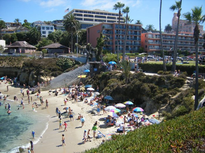 14. The Cove in La Jolla is one of those magical beaches in SoCal that makes my heart happy.