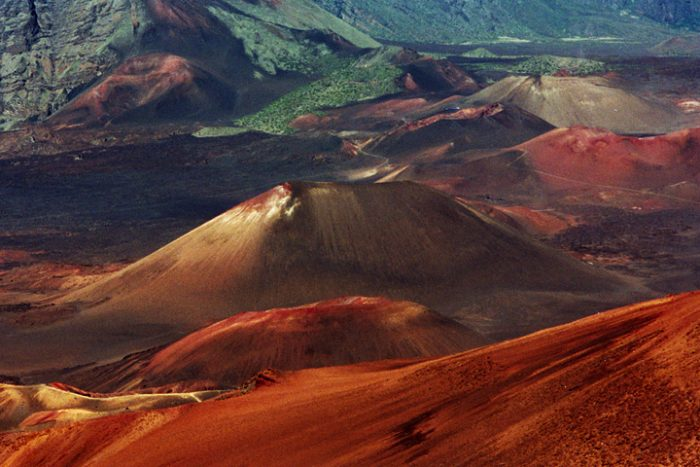 Hawaiian Volcanoes Extinct