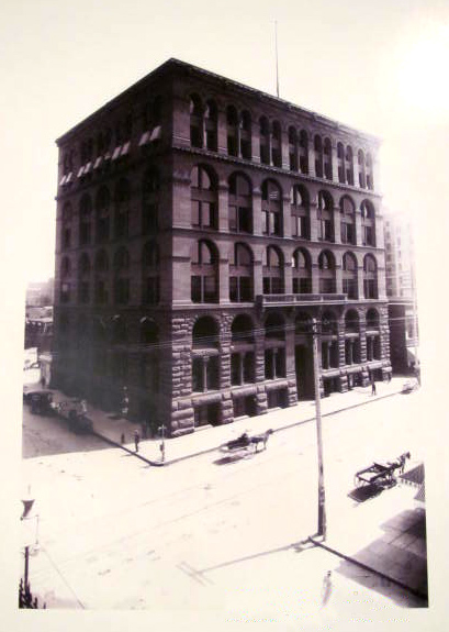 5. The Bank Building, early 1900s