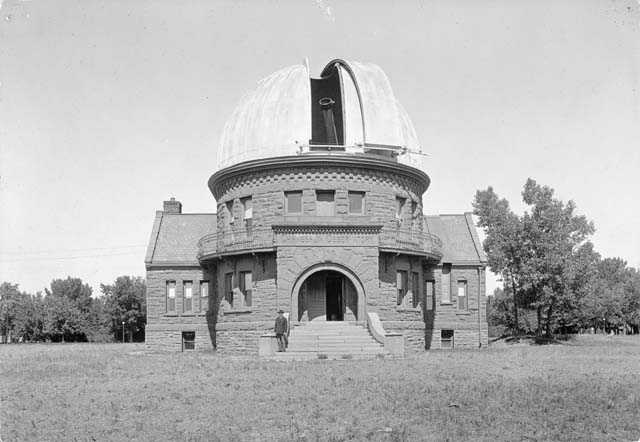 8. The Chamberlin Observatory, between 1898 and 1910