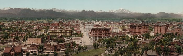3. Downtown Denver, 1898