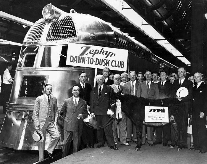15. The Denver Zephyr, 1930s