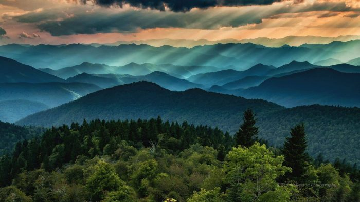 9. The Blue Ridge Mountains are a small slice of heaven on Earth. I always feel at peace here.