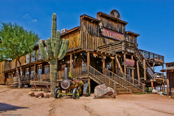 5. Goldfield Ghost Town, Apache Junction