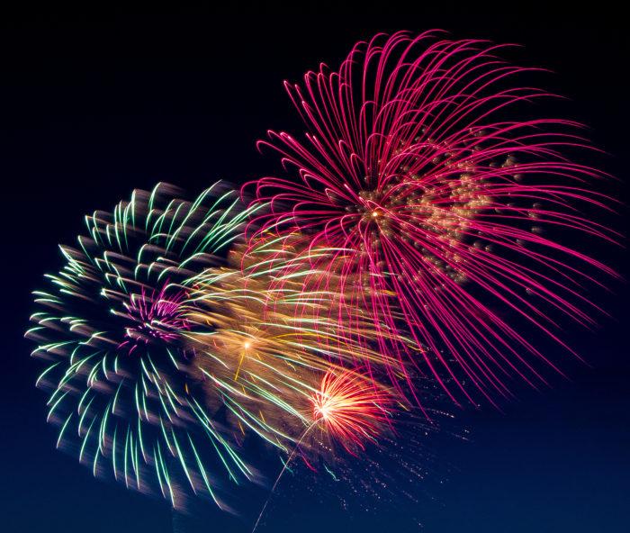 Kansas City Images New Year Fireworks