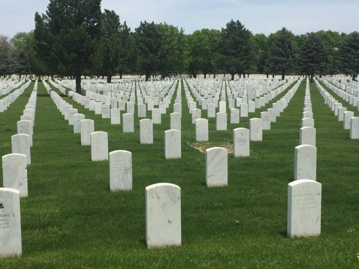 3. Fort Logan National Cemetery