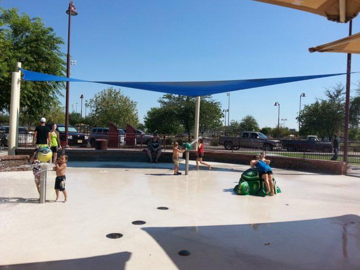 Mesa Riverview Park Splash Pad
