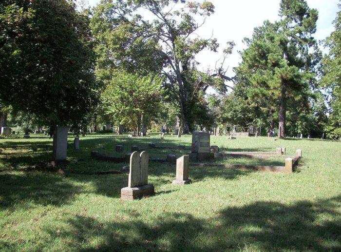 Boy Night Cemetery