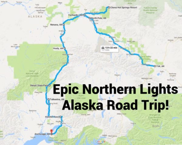This Road Trip Takes You To The Best Places To See The ...
