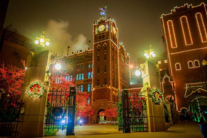 Zoo Christmas Lights St Louis