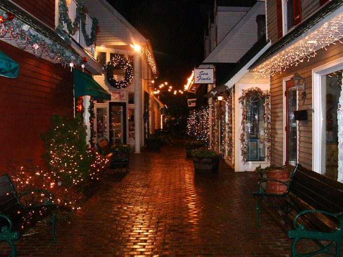Christmas In Rehoboth Beach Delaware Is A Winter Wonderland