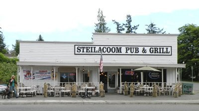 Fuel up at the Steilacoom Pub & Grill, a local favorite.