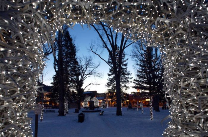 Jackson Wyoming Turns Into A Winter Wonderland Each Year