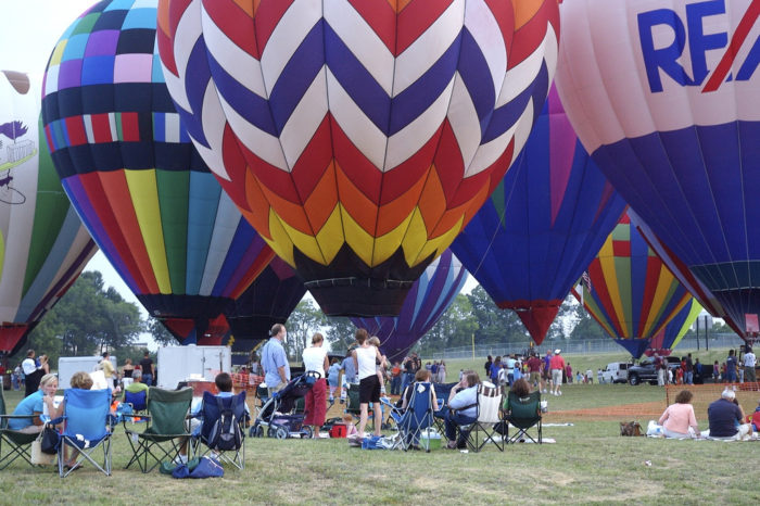 The Championship Hot Air Balloon Fest Is A One Of A Kind