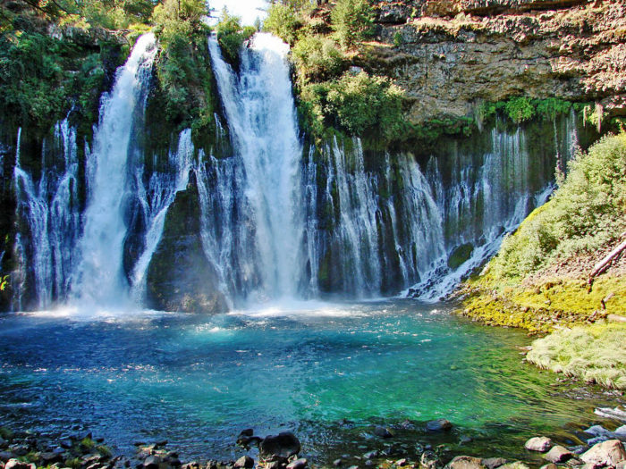 Burney Fall Is The Jaw Dropping Waterfall That Is Unlike