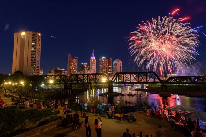 The Best 4th Of July Fireworks Shows In Ohio In 2017