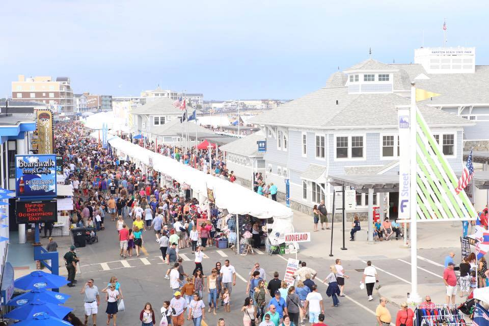 The Hampton Beach Seafood Festival Is The Best Food Fest