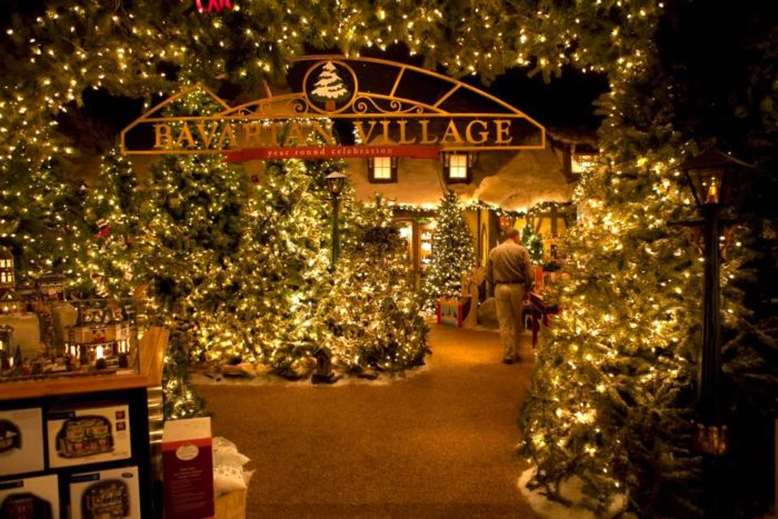 The Magical Place In Massachusetts Where Its Christmas