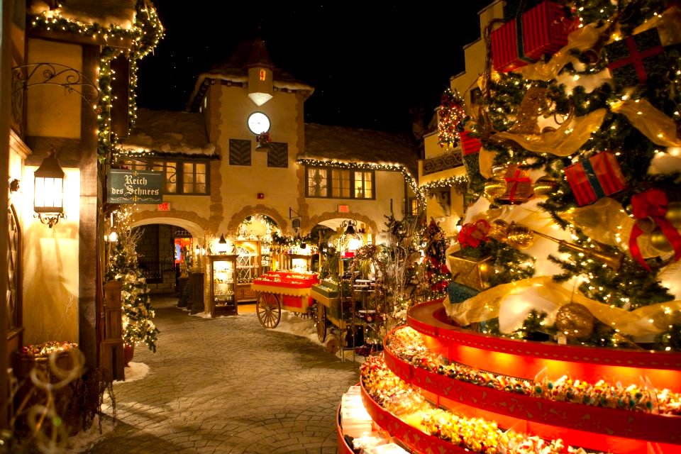 The Magical Place In Massachusetts Where Its Christmas Year Round