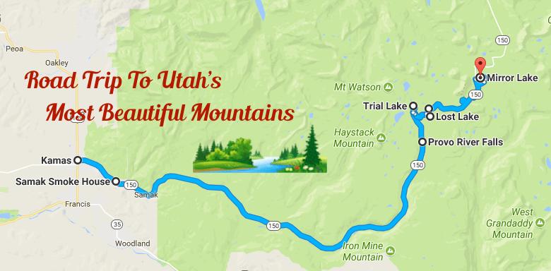 Utah Road Trip Along The Mirror Lake Scenic Byway