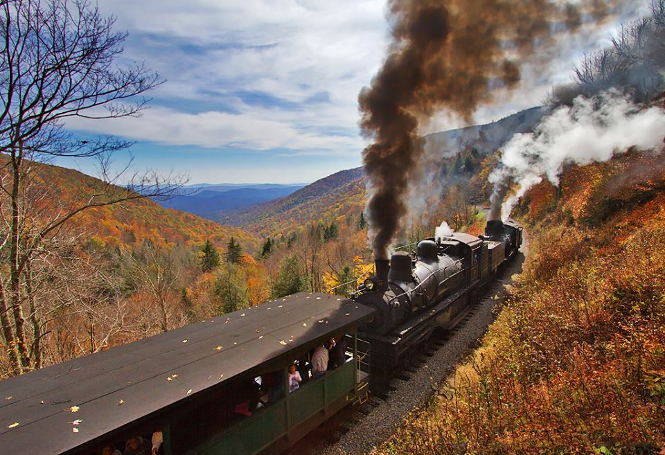 Cass Scenic Railroad In West Virginia Has The Perfect