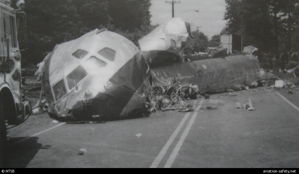 The Crash Of Usair Flight 1016 In Charlotte North Carolina