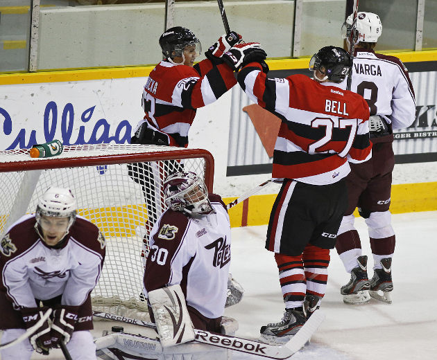 Petes Home Woes Continue in 8-1 Loss to 67's ...
