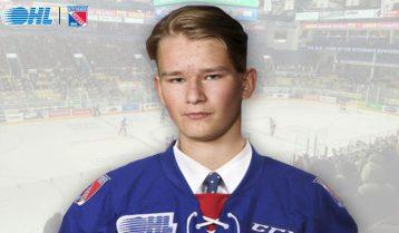 Ville Ottavainen commits to Rangers – Ontario Hockey League