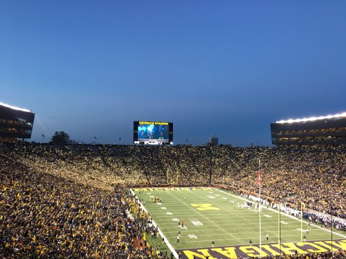 Michigan Stadium Music Man Trolls Penn Staters In Blowout Loss